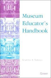Cover of: Museum educator's handbook
