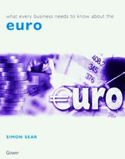 Cover of: What every business needs to know about the Euro
