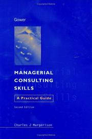 Cover of: Managerial consulting skills | Charles J. Margerison