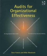 Cover of: Audits For Organizational Effectiveness | Dave Francis