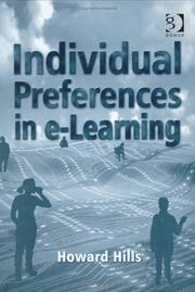 Individual Preferences in E-Learning by Howard Hills