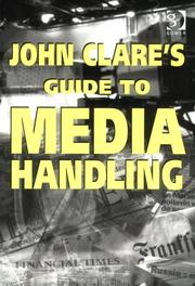 Cover of: John Clare's Guide to Media Handling