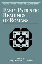 Cover of: Early Patristic Readings of the Romans (Romans Through History and Cultures) |