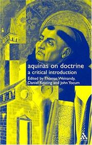 Cover of: Aquinas on Doctrine |