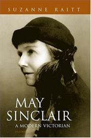 Cover of: May Sinclair | Suzanne Raitt
