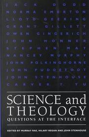 Cover of: Science and Theology |