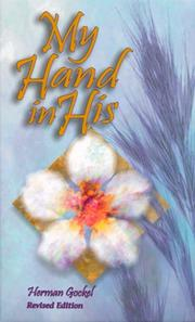 Cover of: My hand in His: ancient truths in modern parables