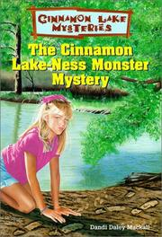 Cover of: The Cinnamon Lake-Ness Monster Mystery