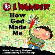 Cover of: I Wonder How God Made Me (I Wonder (Concordia))