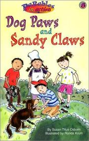 Cover of: Dog paws and sandy claws | Susan Titus Osborn
