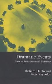 Cover of: Dramatic events | Richard Hahlo