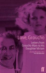 Cover of: Love, Groucho