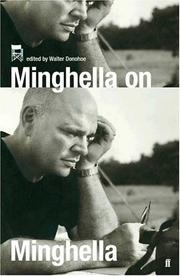 Cover of: Minghella on Minghella