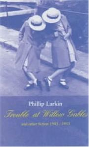 Cover of: Trouble at Willow Gables and Other Fiction 1943-1953