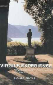 Cover of: Virgil's Experience: Nature and History