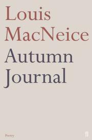 Cover of: Autumn journal