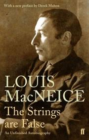 Cover of: The strings are false