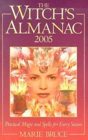 Cover of: The Witches Almanac 2005 by Marie Bruce