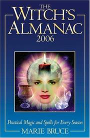 Cover of: The Witch's Almanac 2006 | Marie Bruce