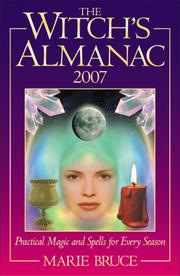 Cover of: The Witch's Almanac 2007 | Marie Bruce