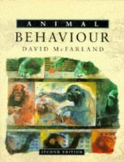 Cover of: Animal behaviour | David McFarland