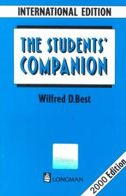 Cover of: Student Companion