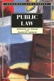Cover of: Public law