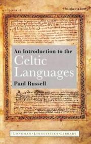 Cover of: An introduction to the Celtic languages