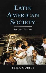 Cover of: Latin American society | Tessa Cubitt