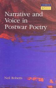 Cover of: Narrative and voice in postwar poetry