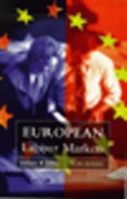 Cover of: European labour markets