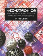 Cover of: Mechatronics | W. Bolton