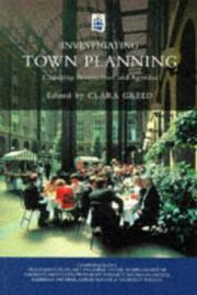 Cover of: Investigating Town Planning | Clara Greed
