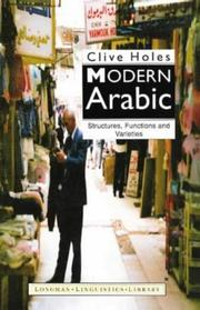Cover of: Modern Arabic