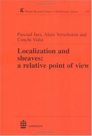 Localization and Sheaves