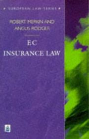 Cover of: EC insurance law