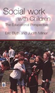 Cover of: Social work with children