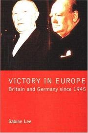 Cover of: Victory in Europe?