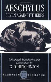 Cover of: Seven Against Thebes (Septem Contra Thebas)