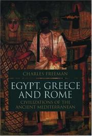 Cover of: Egypt, Greece, and Rome: civilizations of the ancient Mediterranean