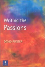 Cover of: Writing the passions