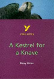 Cover of: A Kestrel for a Knave