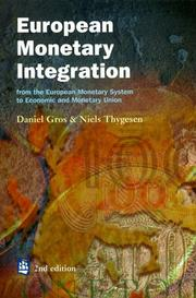 Cover of: European Monetary Integration | Daniel Gros