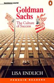 Cover of: Goldman Sachs (Penguin Audio Readers, Level 4)