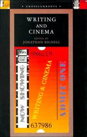 Cover of: Writing and Cinema (Crosscurrents (London, England).)