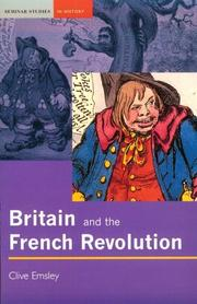 Cover of: Britain and the French Revolution | Clive Emsley
