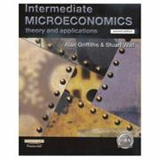 Cover of: Intermediate Microeconomics | Alan Griffiths