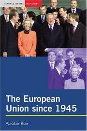 Cover of: The European Union since 1945
