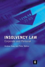 Cover of: Insolvency law