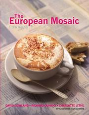 Cover of: The European mosaic |